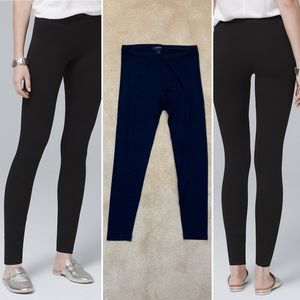 WHBM | Full Length Black Leggings | Size XS